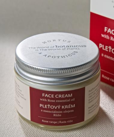 crème visage Rose 50gr