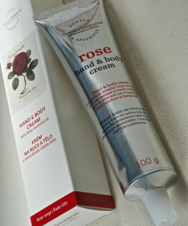 Crème corps et mains à la rose