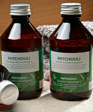 shampoing Patchouli vitamine E 250ml