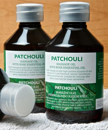 Huile de massage Patchouli