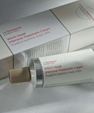 Crème traitement hamamélis