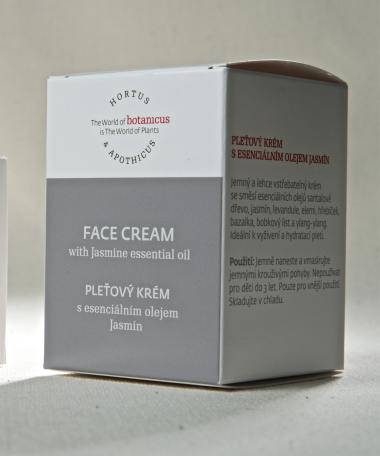 crème visage Jasmin 50gr