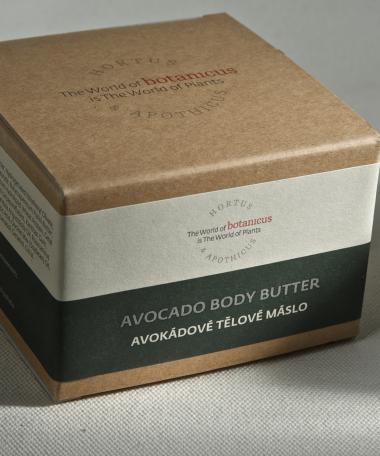 Beurre corporel au beurre d'avocat 190 g