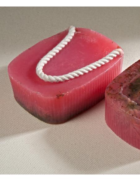 savon corde Concombre, Rose 190gr